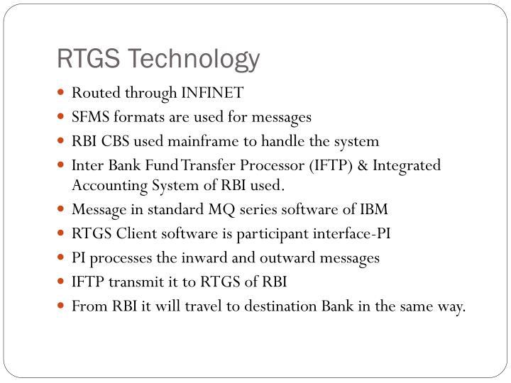 RTGS Technology