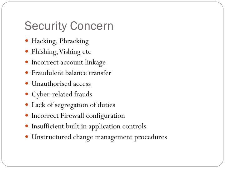 Security Concern