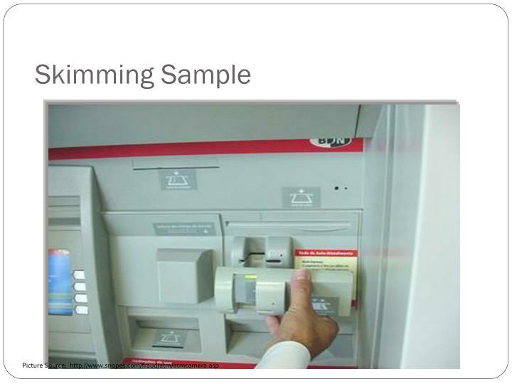 Skimming Sample