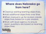 where does nebraska go from here