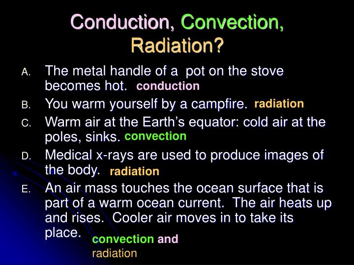 Conduction,