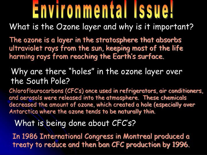 Environmental Issue!