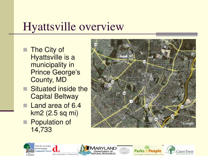 Hyattsville overview