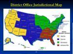 district office jurisdictional map