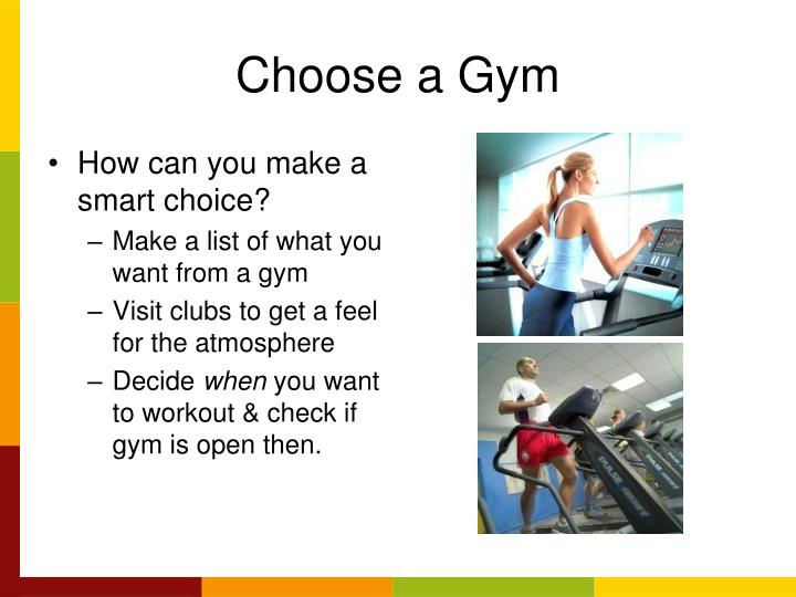 Choose a Gym