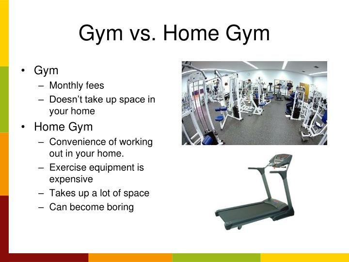 Gym vs. Home Gym