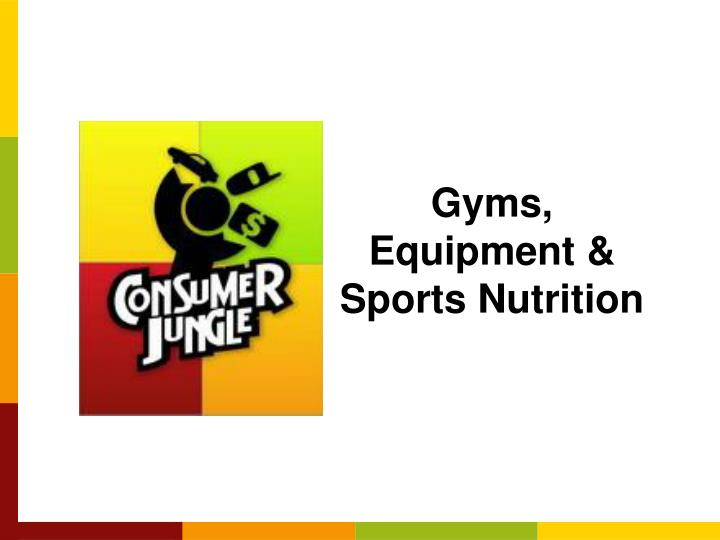 Gyms equipment sports nutrition
