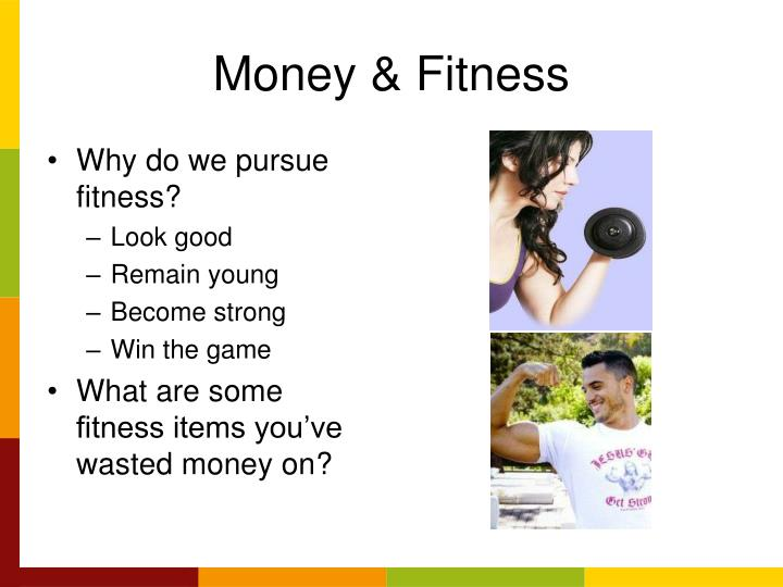 Money & Fitness