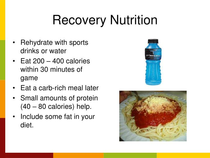 Recovery Nutrition