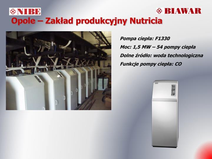 Opole – Zakład produkcyjny