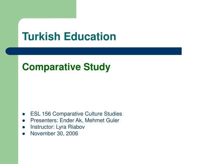 Turkish education
