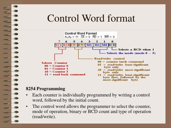 8254 Programming