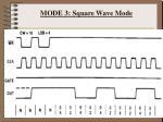 mode 3 square wave mode