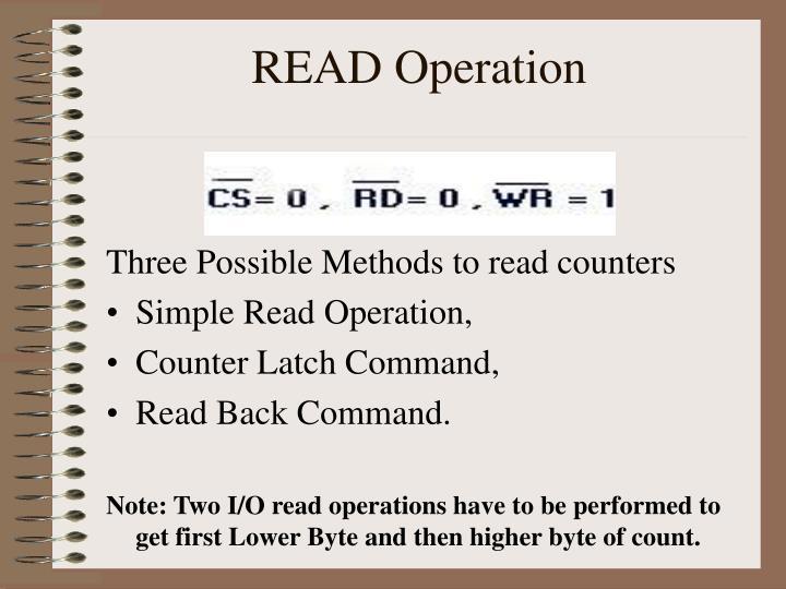 READ Operation