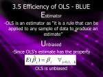 3 5 efficiency of ols blue1