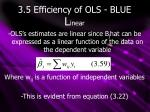 3 5 efficiency of ols blue2