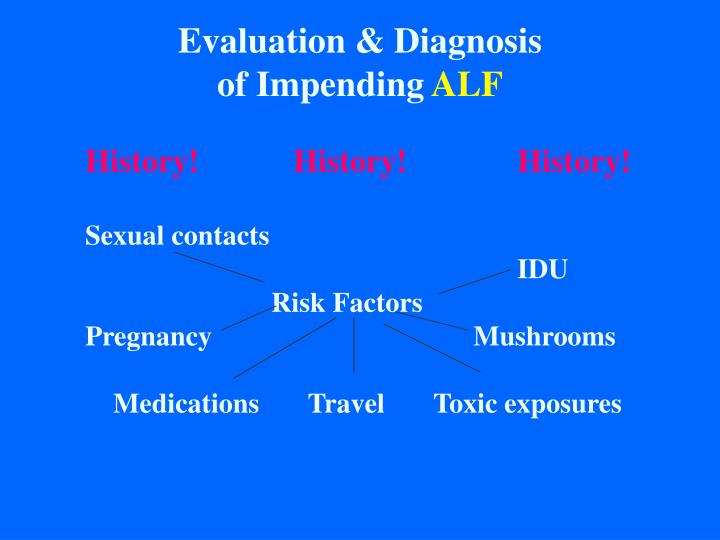 Evaluation & Diagnosis