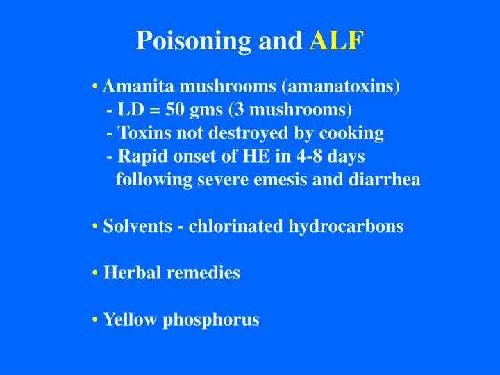 Poisoning and