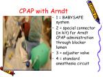cpap with arndt