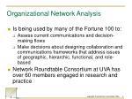 organizational network analysis1