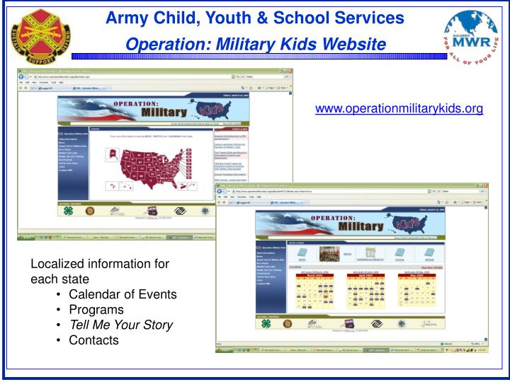 Army Child, Youth & School Services