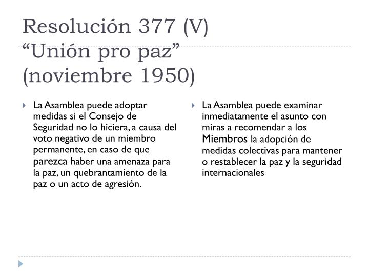 Resolución 377 (V)
