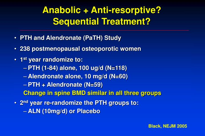 Anabolic + Anti-resorptive?