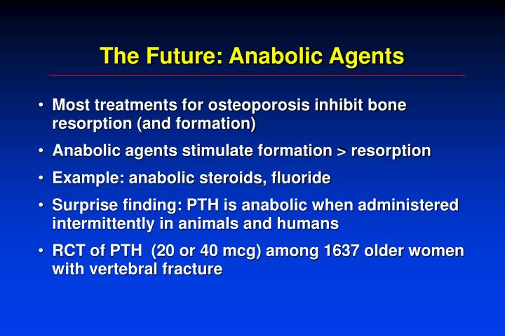 The Future: Anabolic Agents