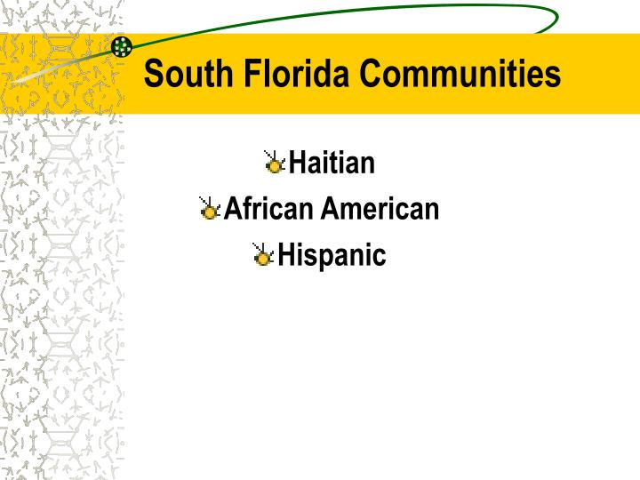 South Florida Communities
