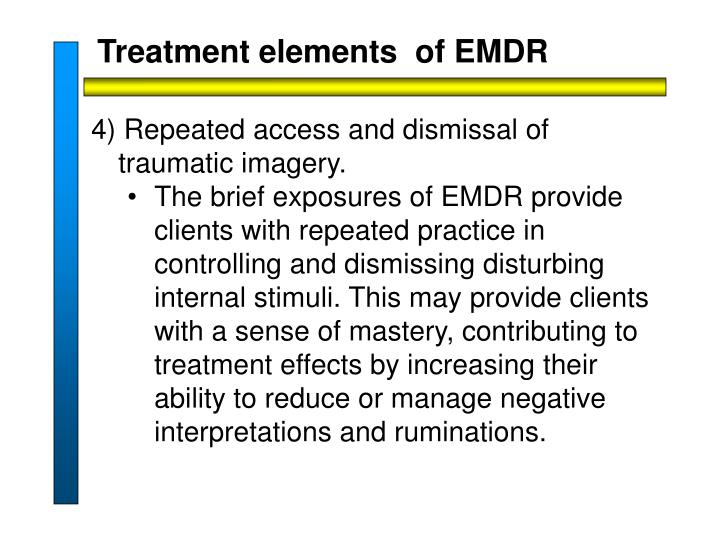 Treatment elements  of