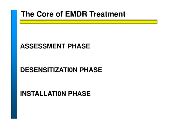The Core of EMDR Treatment