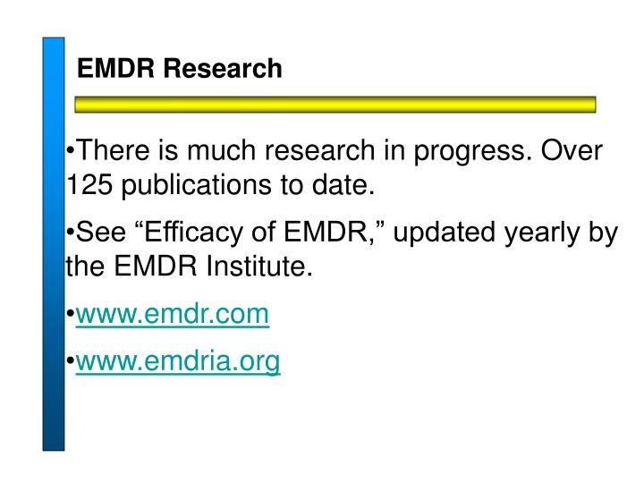 EMDR Research