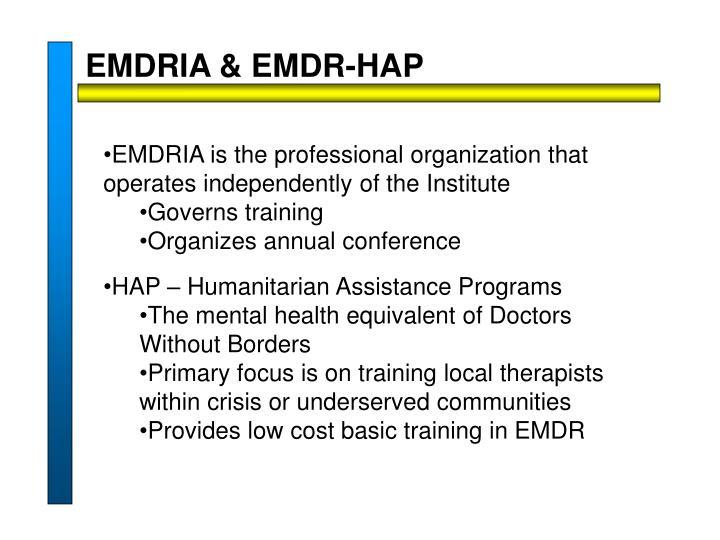 EMDRIA & EMDR-HAP