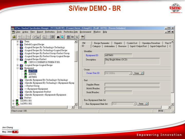 SiView DEMO - BR