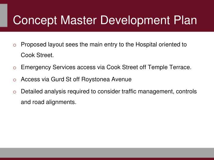 Concept Master Development Plan