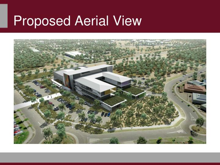 Proposed Aerial View