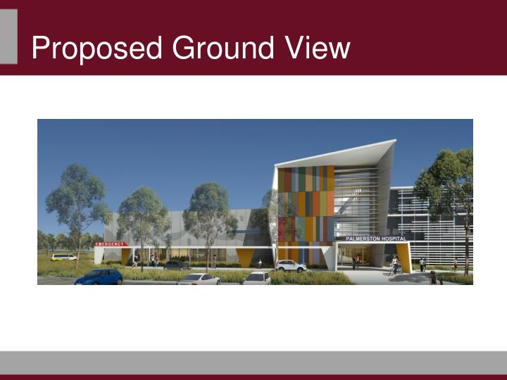 Proposed Ground View