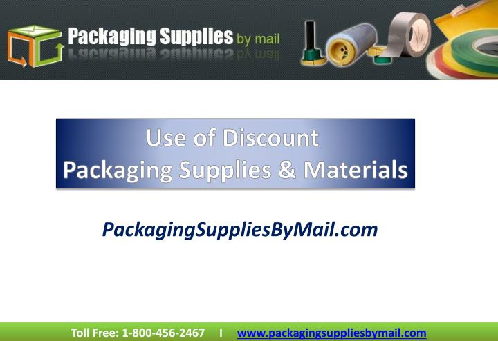 Packagingsuppliesbymail com