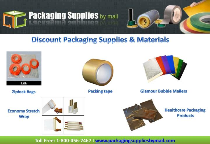 Discount Packaging Supplies & Materials