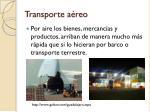 transporte a reo3