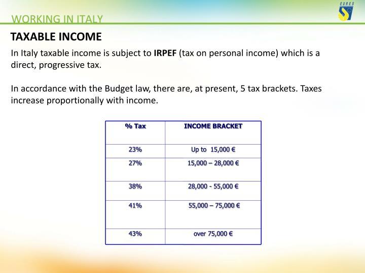 % Tax