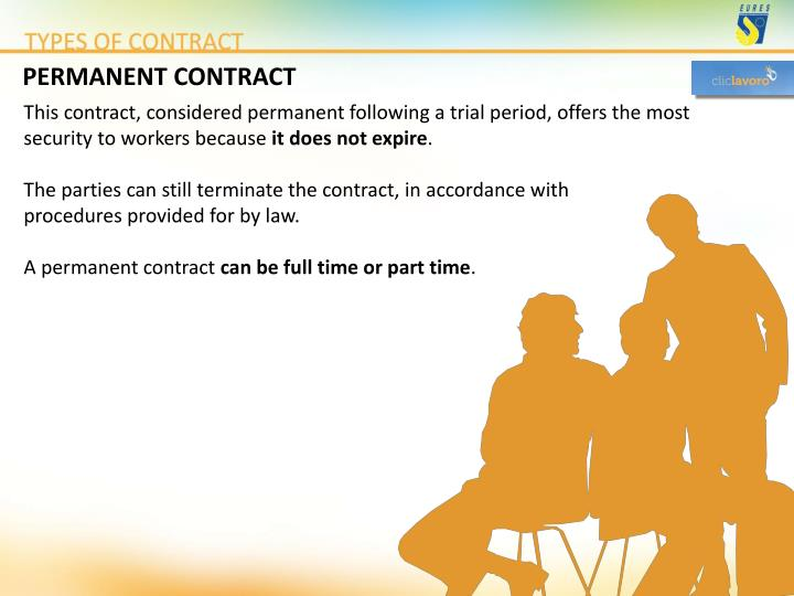 PERMANENT CONTRACT