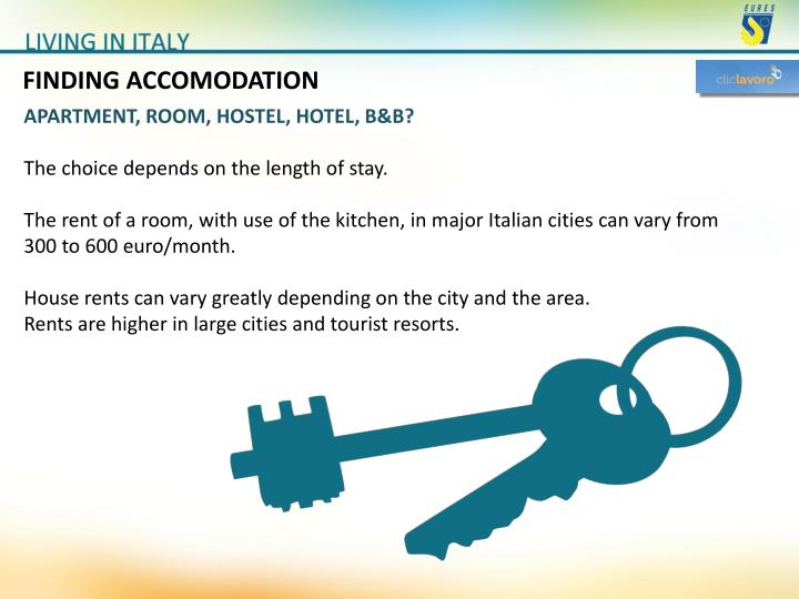 FINDING ACCOMODATION