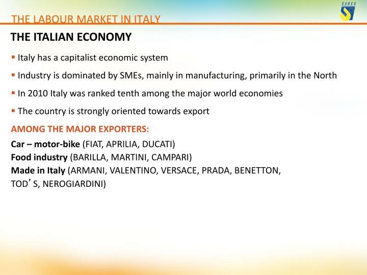 THE ITALIAN ECONOMY