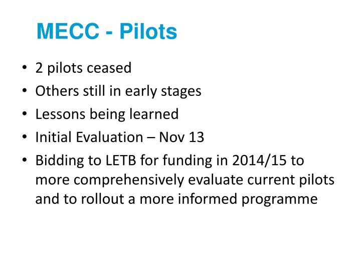 MECC - Pilots
