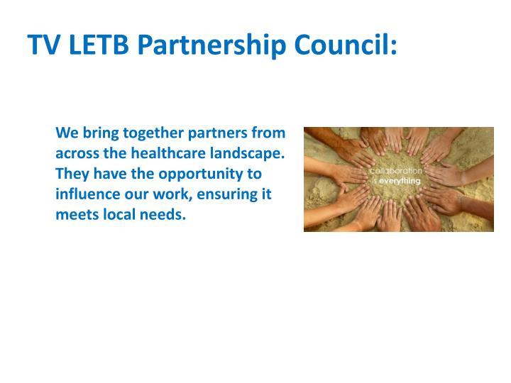 TV LETB Partnership Council: