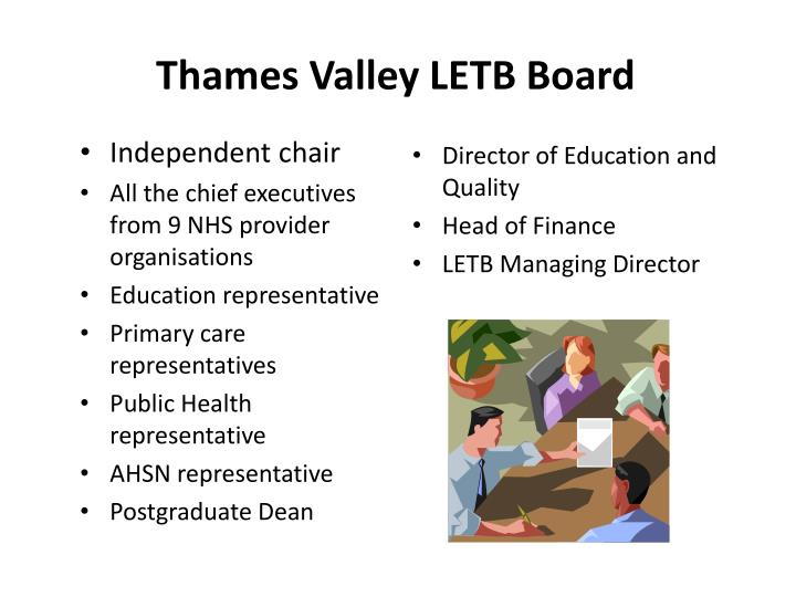 Thames Valley LETB Board