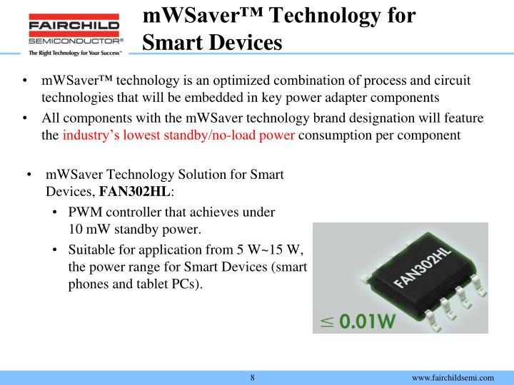 mWSaver™ Technology for