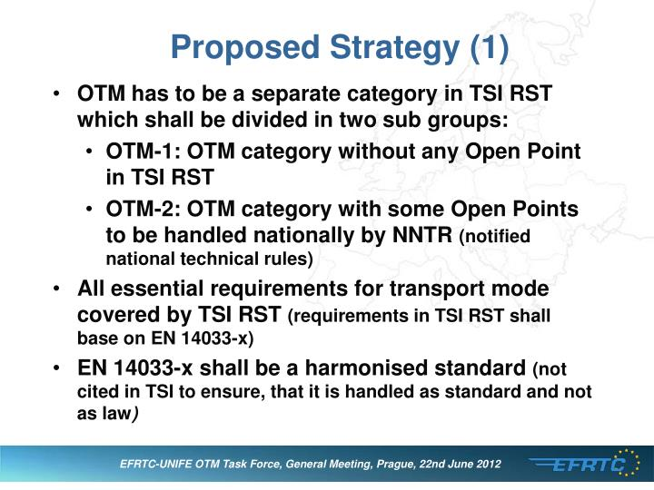 Proposed Strategy (1)