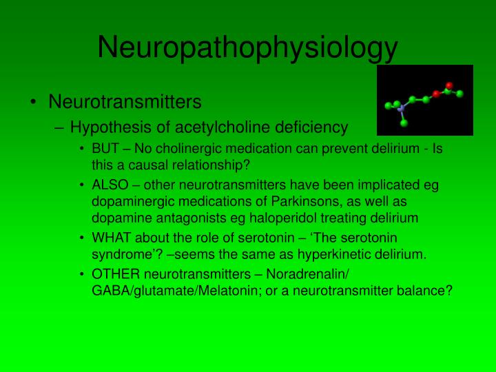 Neuropathophysiology